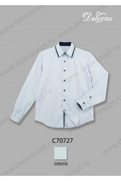 Текстильная рубашка с длинным рукавом