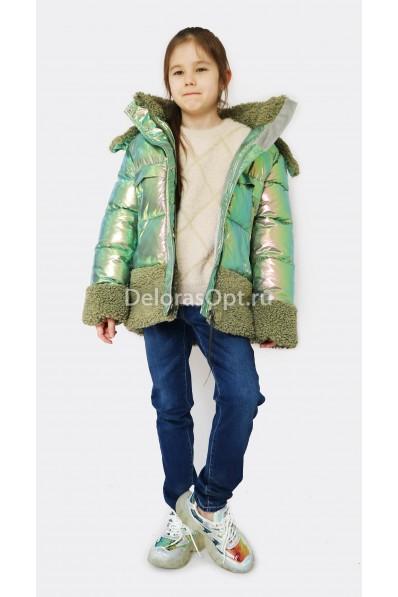 Пальто на синтепоне для девочки