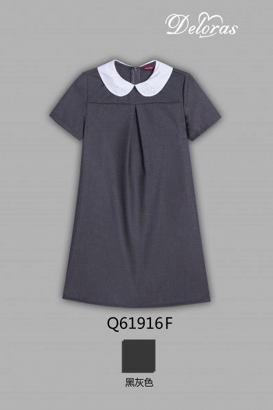 Текстильное платье с коротким рукавом