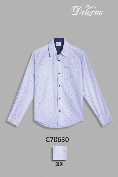 Текстильная рубашка с коротким рукавом