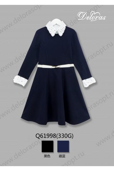 Трикотажное платье 1/2 рукав